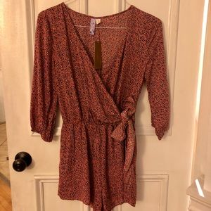 Francesca's romper new with tag size small